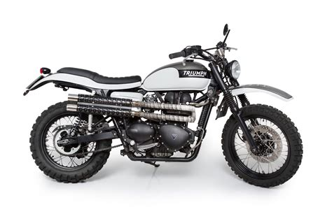 Triumph Scrambler By Tamarit Spanish Motorcycles