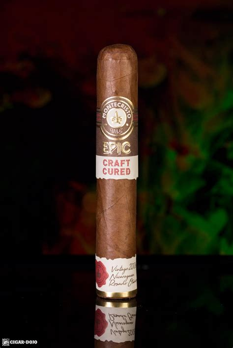 Montecristo Epic Craft Cured Robusto Review  Cigar Dojo