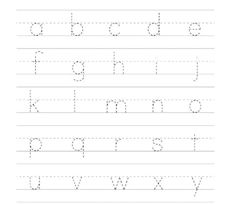 handwriting worksheets writing