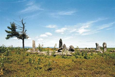 easy hike  ancient stone circle  massachusetts
