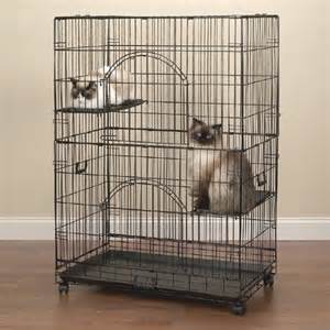 cat cages easy cat cage in black modern cat furniture by wayfair
