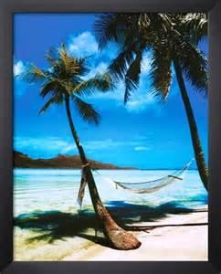 Beach with Palm Trees Hammock