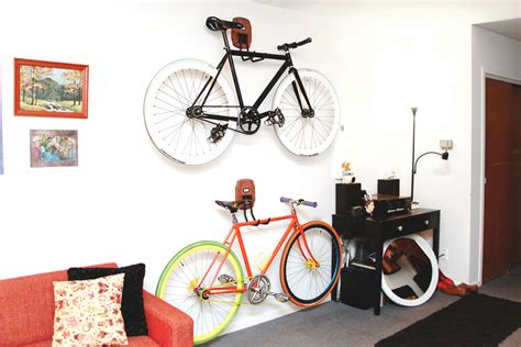 ceiling bike rack flat creative bike storage for tiny spaces osmweasel news