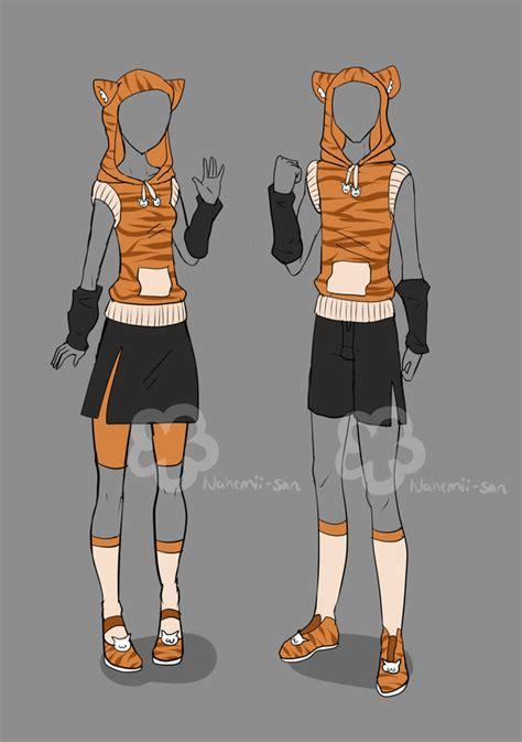 Girlu0026#39;nu0026#39;Boy Tiger Outfit - unlimited by Nahemii-san.deviantart.com on @deviantART | art ...