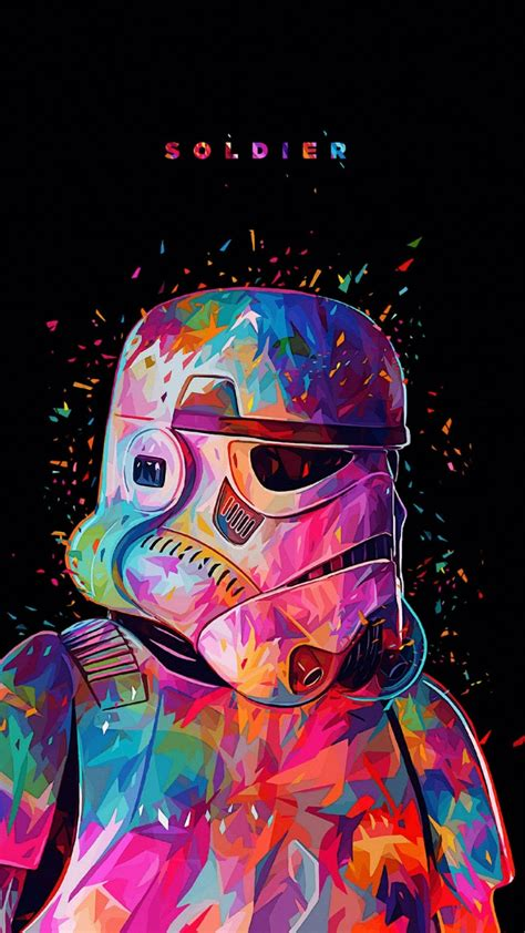 Stormtrooper | Star wars painting, Star wars art, Star ...