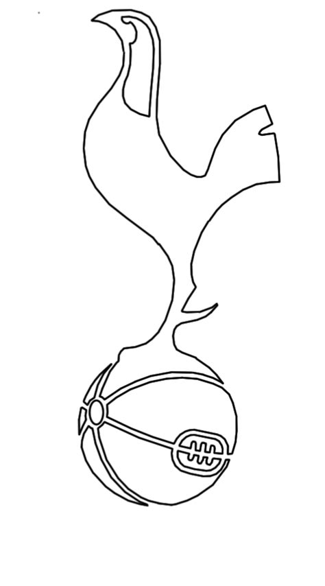 tottenham hotspur logo template andrewkellett94 designer historian