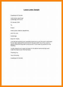 5+ medical leave letter sample edu techation