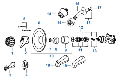 delta kitchen faucets replacement parts valley single handle shower replacement parts
