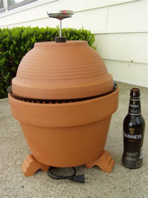 build   clay pot smoker  owner builder network