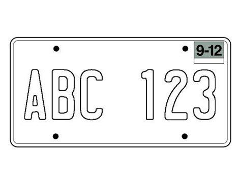 Blank+california+license+plate+template