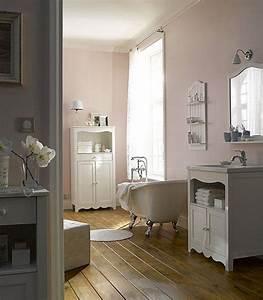 Petite Baignoire Retro : ambiance r tro avec cette baignoire en acrylique blanc et ~ Edinachiropracticcenter.com Idées de Décoration