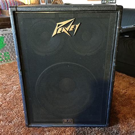 peavey black widow 15 bass cabinet peavey 1516 bi bass cabinet 400w or black widow 15