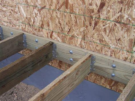 Trex Transcend Decking Joist Spacing by Joist Spacing For Composite Decking Deks And Tables