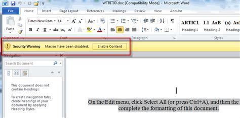 microsoft word add macro  toolbar forwardgop
