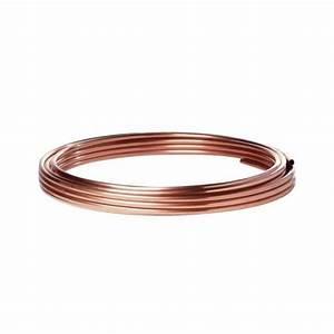 Tuyau En Cuivre : tuyau cuivre 8 mm sanco en petit rouleau pour circuit gaz ~ Zukunftsfamilie.com Idées de Décoration