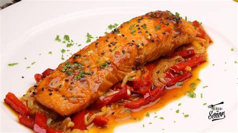salmon al horno receta facil receta de sergio