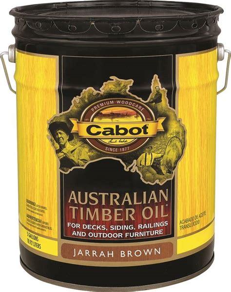 cabot  oil based australian timber oil  gal