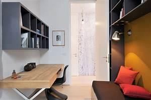 Deco Chambre Ami : bureau amenage chambre ami picslovin ~ Melissatoandfro.com Idées de Décoration