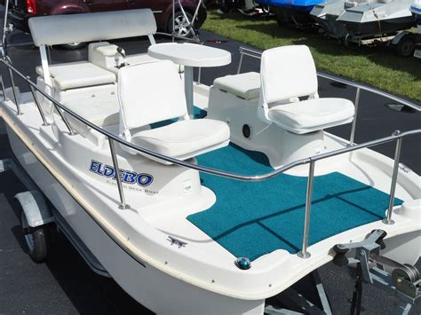 Electric Boats For Sale Ebay by Used Eldebo Electric Pontoon Deck Boat 2002