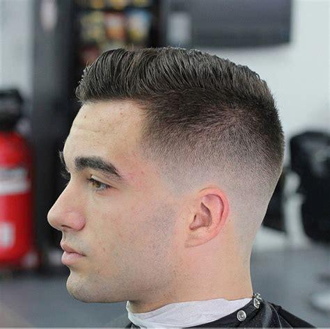 skin fade skin fade pompador haircuts pinterest
