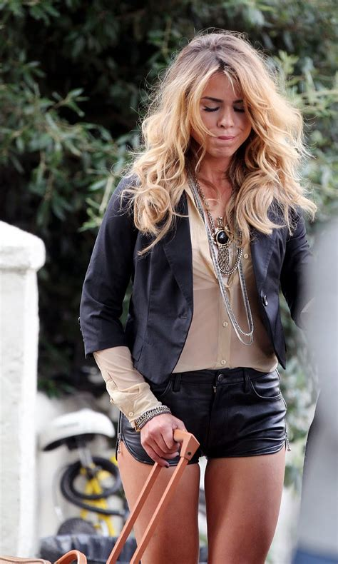 billie piper  leather hotpants