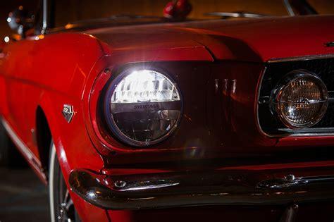 modern headlights for classic cars sylvania zevo led lights combine retro looks with modern lighting solutions autoevolution