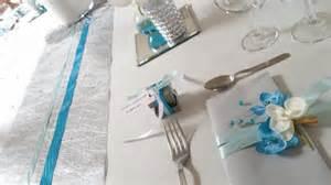mariage et mariages deco table mariage turquoise et argent