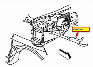 Service Manual  2004 Chevrolet Express 3500 Heater Blower