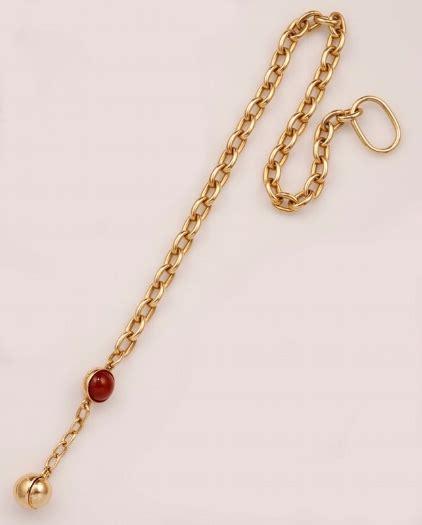catena pomellato pomellato catena con boule in corniola vintage jewels