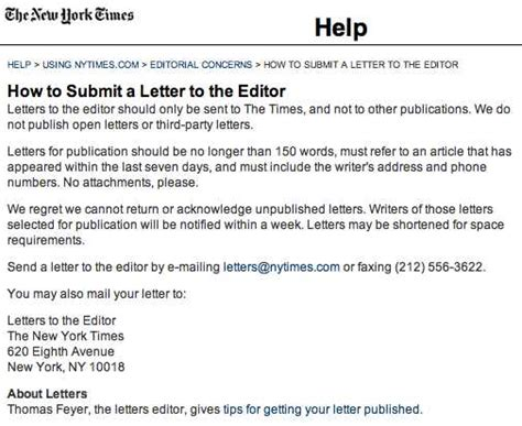 letters to the editor nyt seven tips for writing letters to the editor that can help 25240