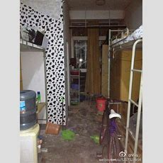 A Peek Inside China's (worst) Dormitories  What's On Weibo