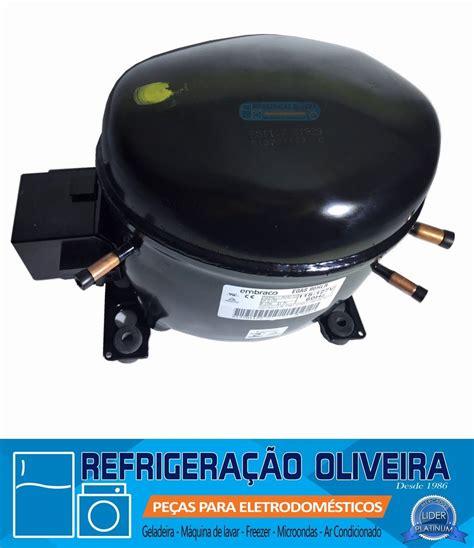 motor para geladeira compressor embraco egas 80hlr 1 4 novo r 348 00 em mercado livre