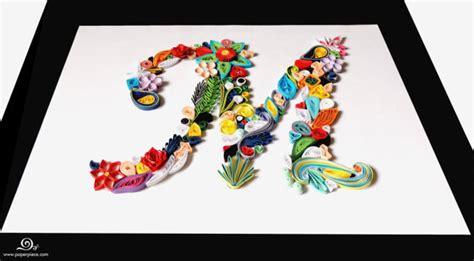 custom  letter monogram paper piece jewelry home decor  paper