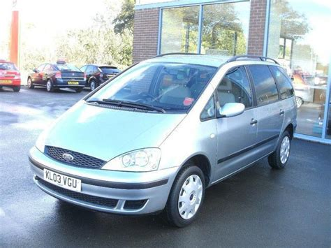 ford galaxy  petrol  lx dr estate silver