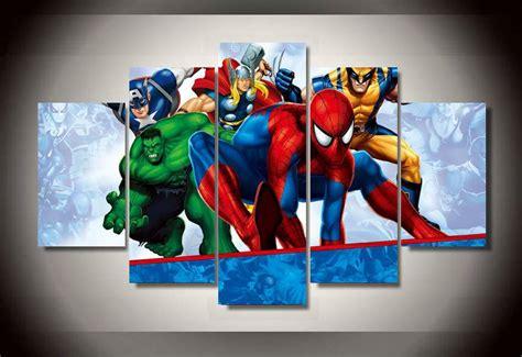chambre 2 gar輟ns encadrée imprimé peinture sur toile chambre décoration impression image affiche toile encadrée livraison gratuite ny