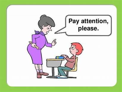 Classroom Language Attention Pay Please Help English