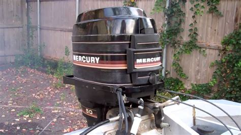 Mercury Outboard Motors Made by 1985 Mercury Outboard 50 Horsepower Doovi