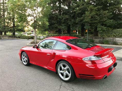 2002 Porsche 996 Turbo In Guards Red
