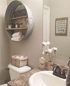 decorer la salle de bain style campagne 10 idees With salle de bain style campagne chic