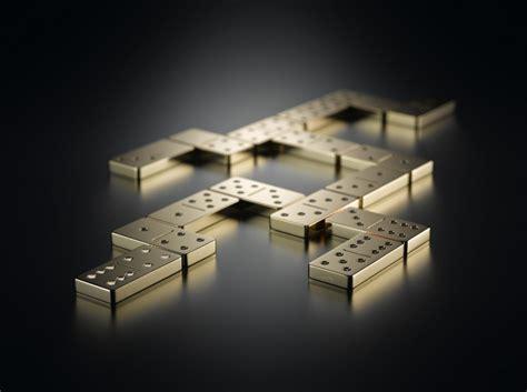 domino set   solid gold  diamonds  shimming