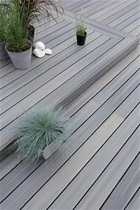 25 best ideas about terrasse composite on pinterest With photo amenagement paysager exterieur 10 terrasse en bois composite fiberon xtrem galaxy jardin