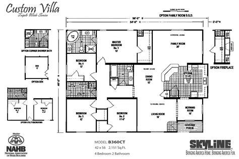 custom villa bct  skyline homes modularhomescom