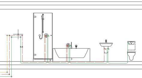 zirkulationsleitung warmwasser einfamilienhaus ringleitung verhindert stagnation beispiel 1 sbz