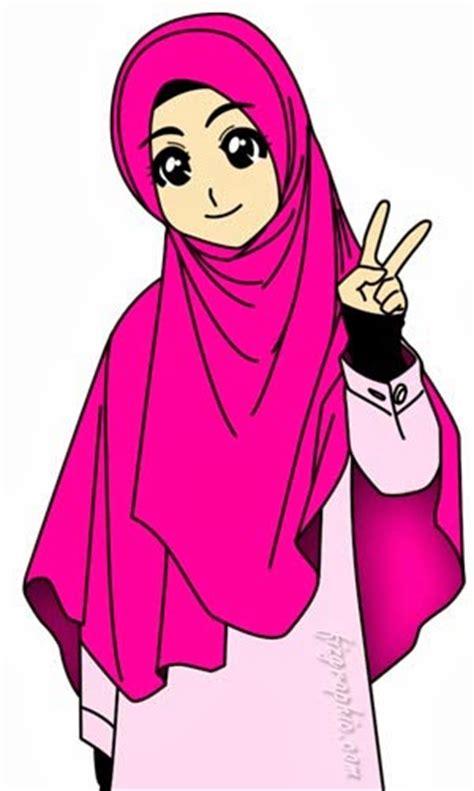 anime tentang cantik kumpulan gambar dan foto gambar kartun wanita muslimah comel
