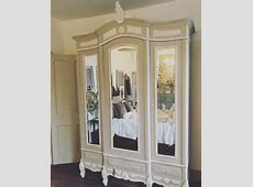 Large Antique French Louis XV 3 Door Armoire wardrobe