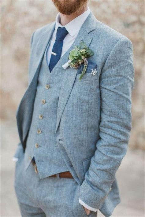 mens linen suits for beach weddings