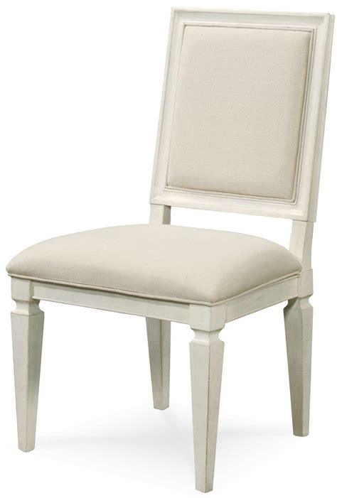 summer hill white woven accent side chair set of 2 from