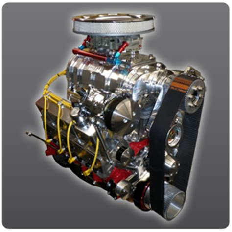 Supercharged Chevy Stroker Turn Key Crate Engine