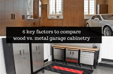 compare wood  metal garage cabinetry columbus ohio