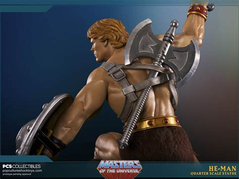 He-man And Battlecat Statues